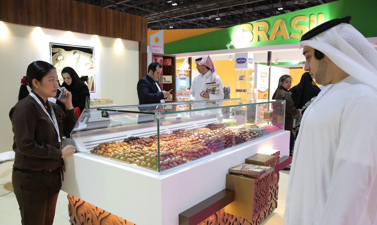 سوق التمور العالمي في مهرجان المأكولات المتخصصة