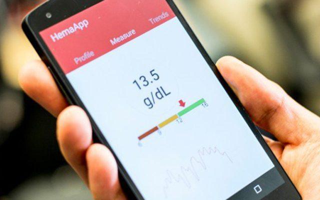 تطبيق ذكي لقياس هيموجلوبين الدم عبر كاميرا الهاتف بدون إبرة!
