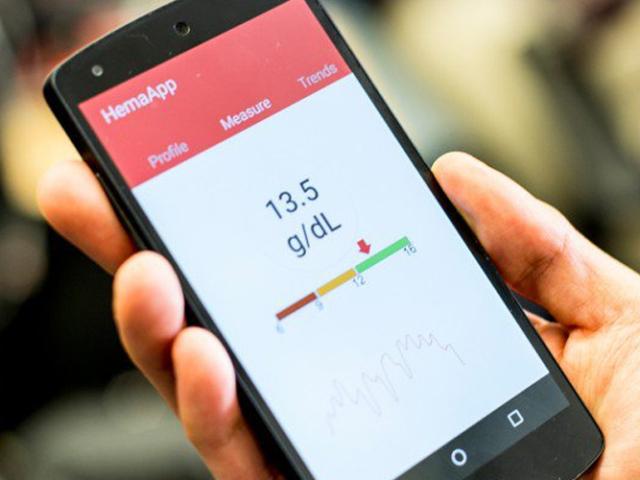 تطبيق قياس هيموجلوبين الدم