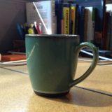 mug on desk