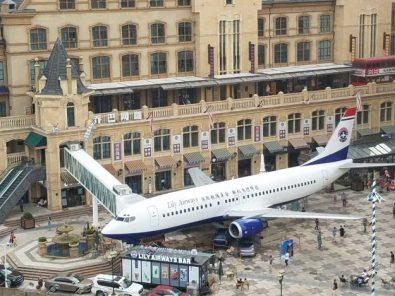 طائرة تتيح لك تجربة طعام الطائرات دون أن تغادر الأرض
