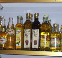 أنواع زيت الزيتون