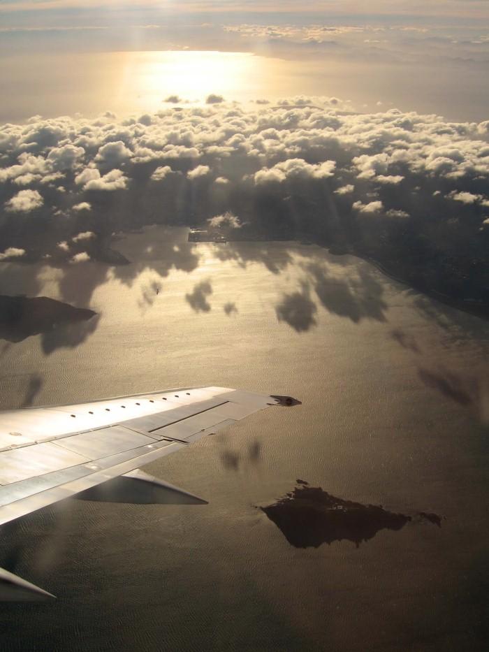 صور من طائرة