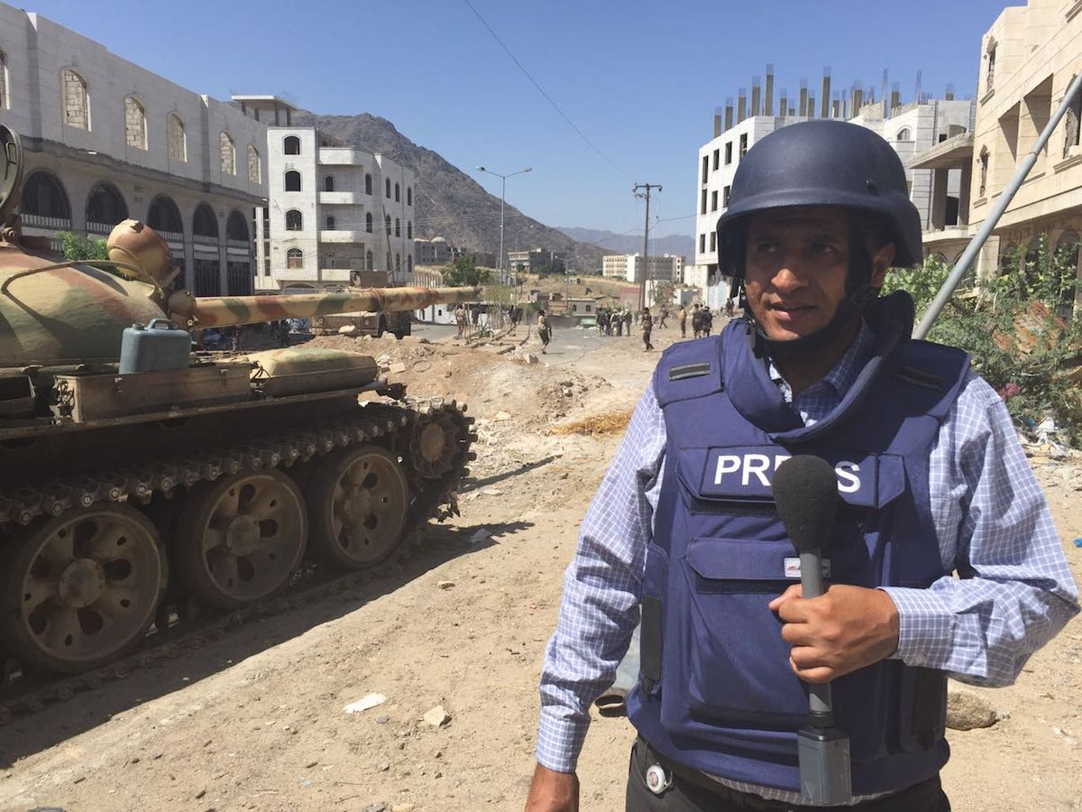 مراسل سكاي نيوز في اليمن