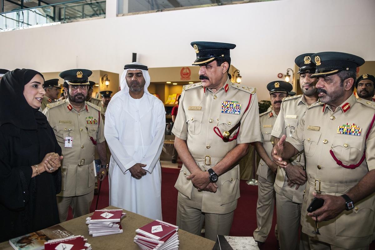 معرض الكتاب التاسع لنادي ضباط شرطة دبي