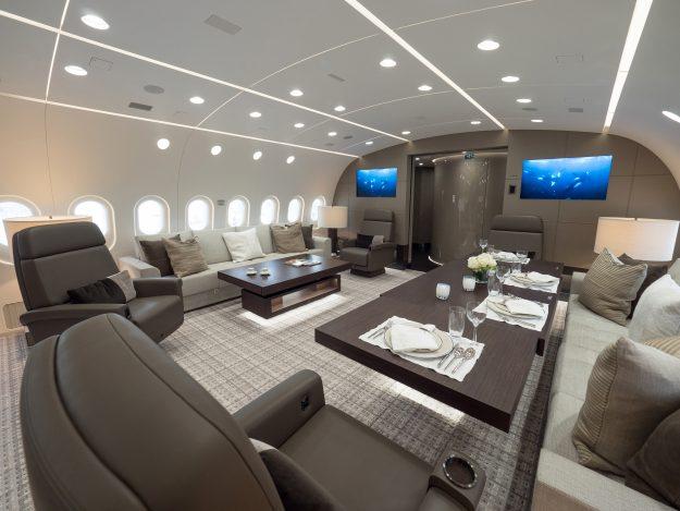 الطائرة الأكثر فخامة