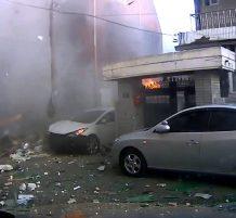 انفجار غاز في كوريا الجنوبية