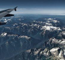 صور من نافذة طائرة