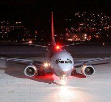 أضواء الطائرة