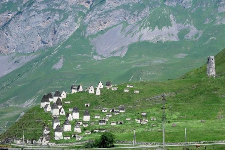 قرية Dargavs