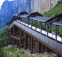 longest sightseeing escalator
