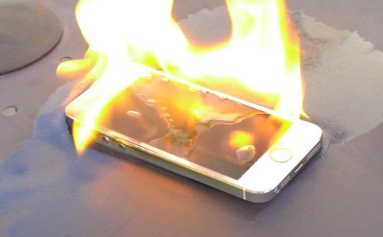 smartphone exploding