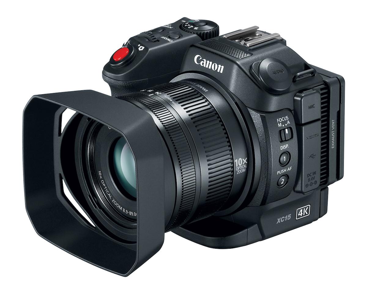 كاميرا xc15 من كانون
