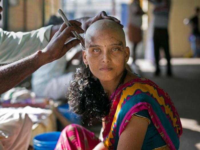 حلق شعر