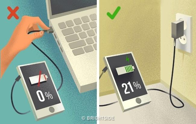 نصائح استخدام الهواتف الذكية واللابتوب