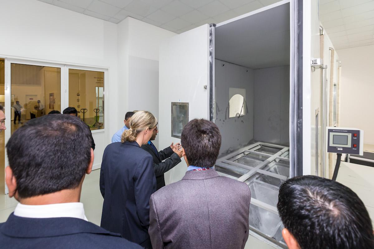 مختبرات الأمن والسلامة