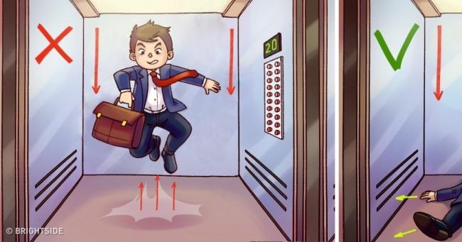 falling lift