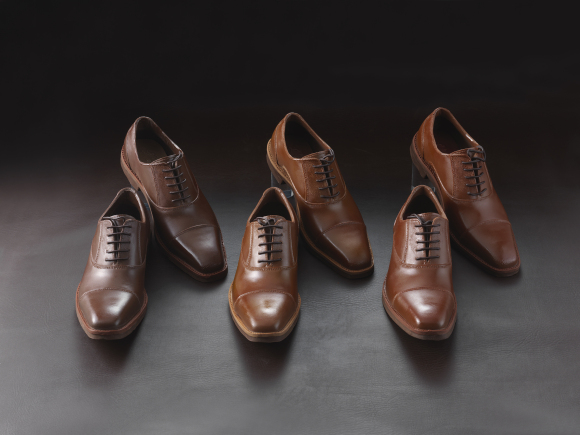 realistic chocolate shoes