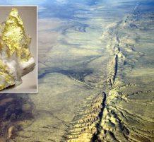 earthquakes form gold