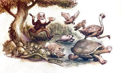 لماذا كان داروين يأكل كل حيوان يكتشفه ؟