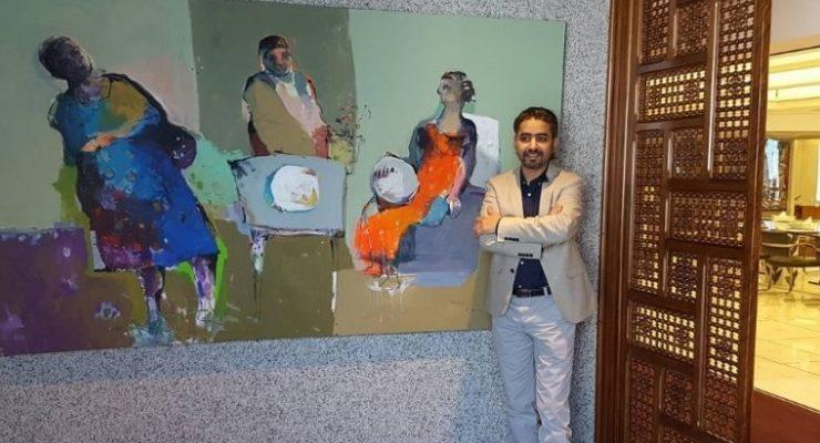ابداع سيد الساري في عالم الفن التشكيلي الحديث