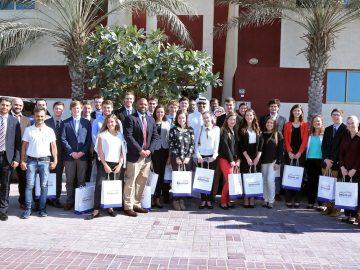 جامعة إيلون الأميركية تزور إنتركويل العالمية