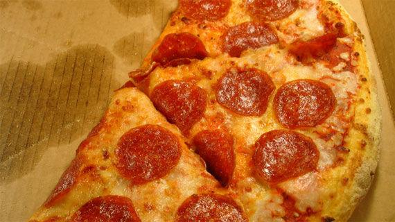 البيتزا
