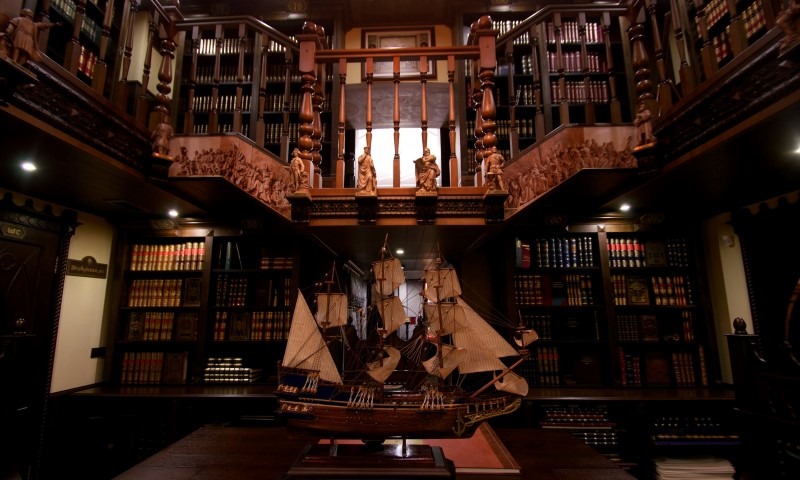 أغلى مكتبة
