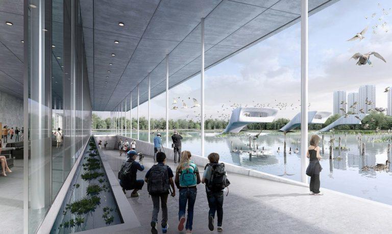 أول مطار للطيور المهاجرة