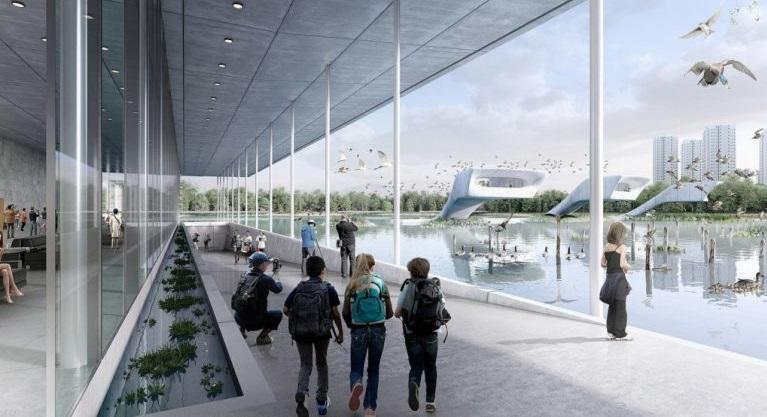 في الصين أول مطار مُخصص للطيور المهاجرة!
