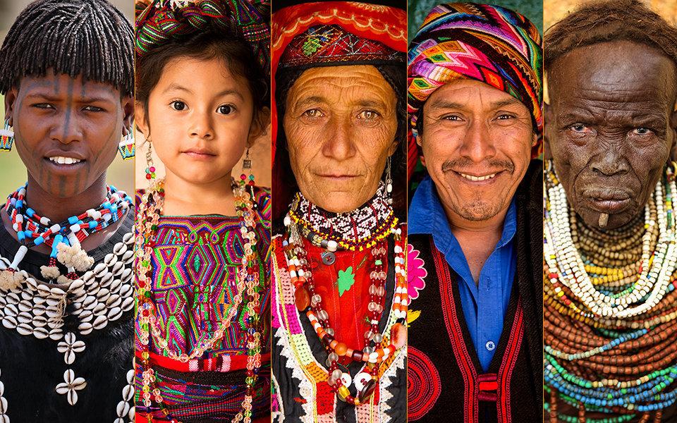صور: كيف تبدو وجوه الناس حول العالم؟