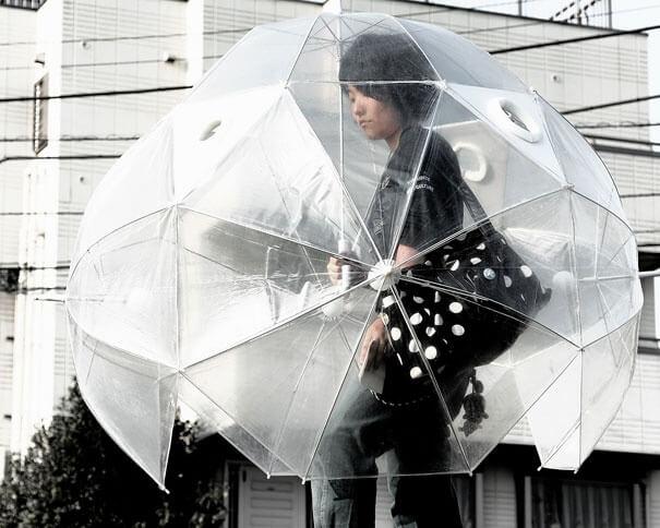 مظلة دائرية
