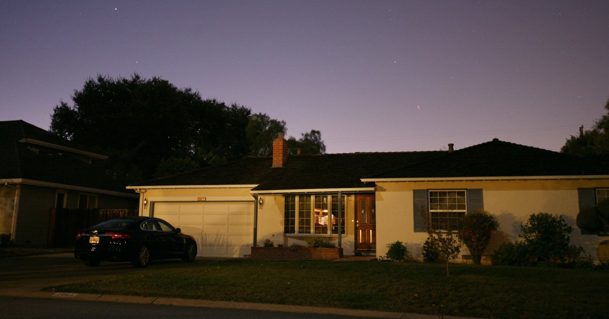 منزل والدي ستيف جوبز
