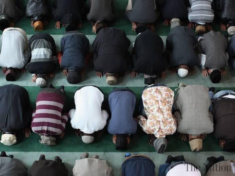 حركات الجسد أثناء الصلاة