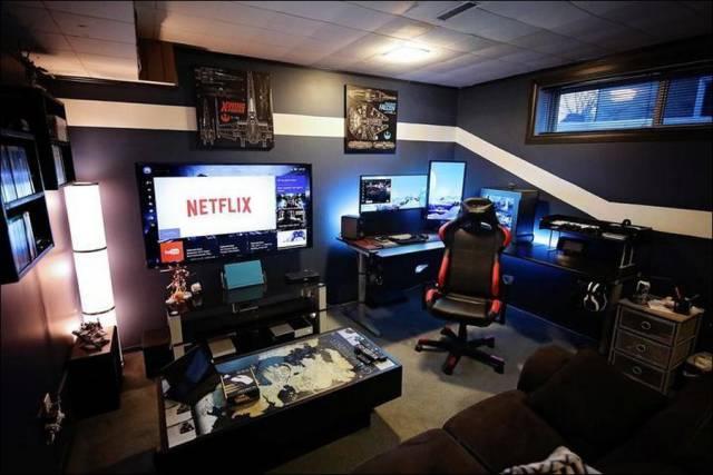 غرف ألعاب فيديو