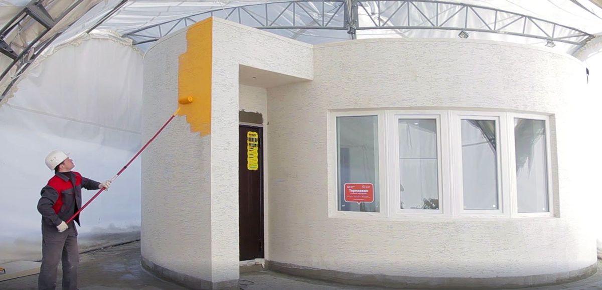 بيت من طابعات ثلاثية الأبعاد