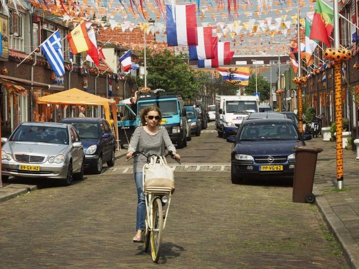 الدراجات الهوائية في المدن