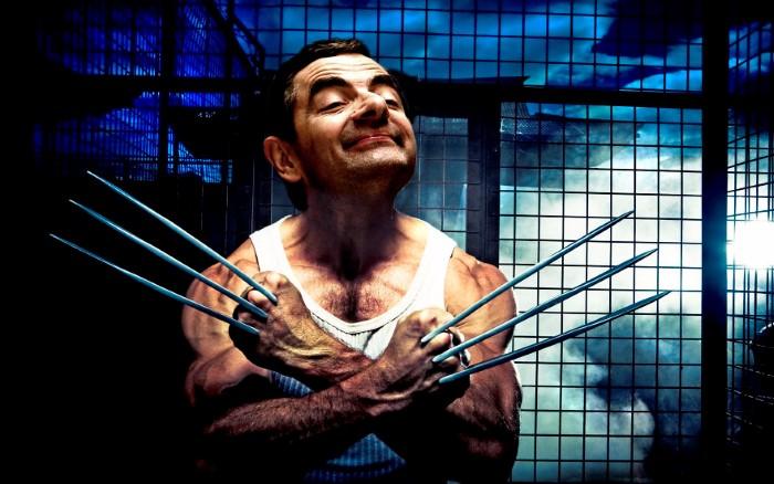 """صور: """"مستر بين"""" في دور أبطال أفلام الأكشن"""