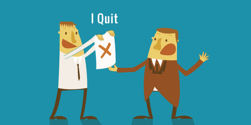 موظف يختار أغرب طريقة لتقديم استقالته انتقاما من مديره!
