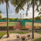 ملعب تنس في فندق كونستانس
