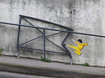 أعمال فنية بالشارع