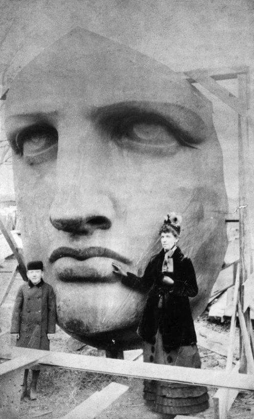 رأس تمثال الحرية