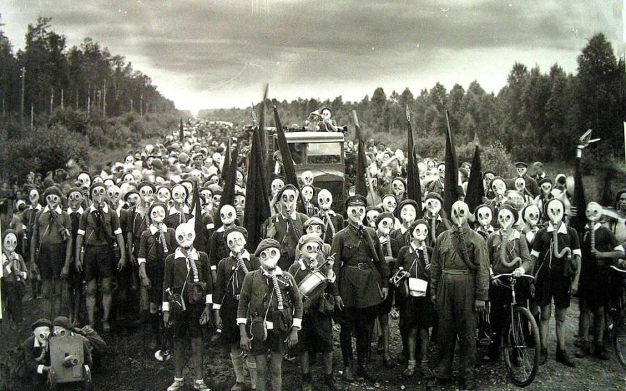 مجموعة الشباب الرواد من صور تاريخية