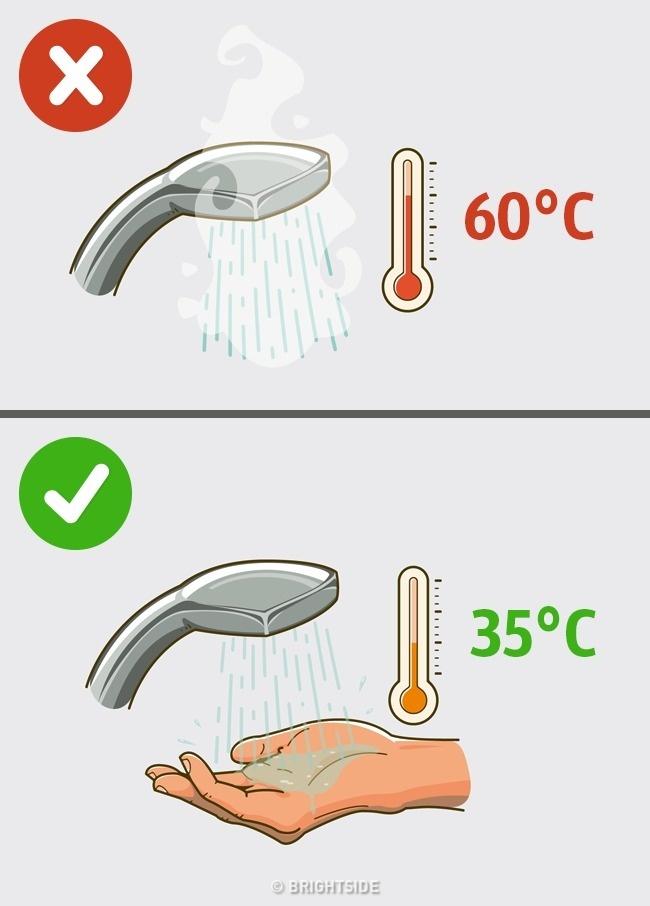 أخطاء نرتكبها يومياً عند الاستحمام