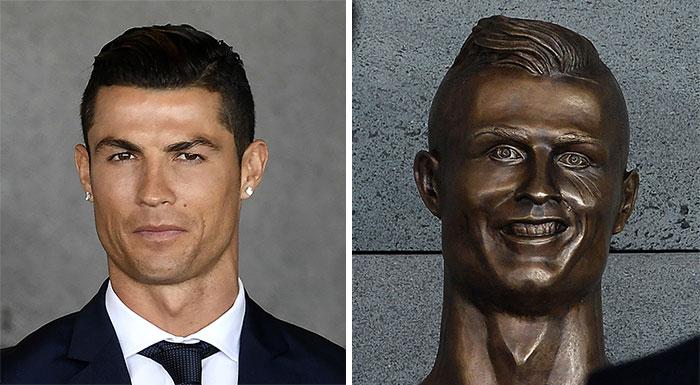 تمثال كريستيانو رونالدو