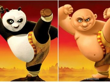 Animals From Animated Movies