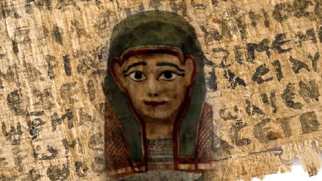 Gospel-Text-In-Mummy-Mask