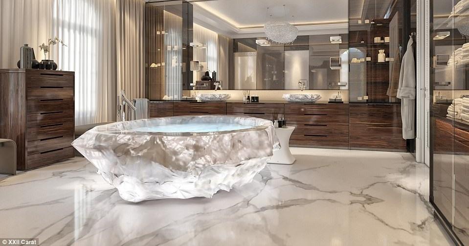 تعرف على أحواض الاستحمام الأغلى في العالم