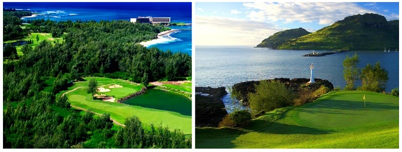 منوعات: جمال ملاعب الجولف في جزيرة هاواي والمزيد..