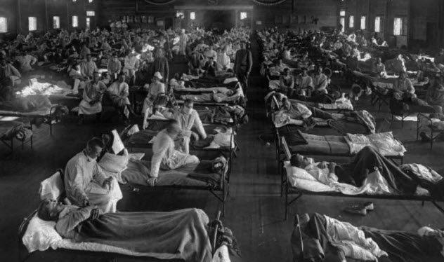 إنفلونزا إسبانية